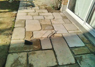 Dallage granit aigurande